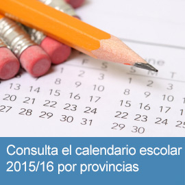 Calendario Escolar 2015/6 por provincias