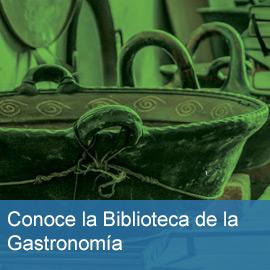 Biblioteca de la gastronomía