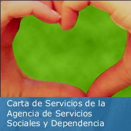 Carta de Servicios de la Agencia de Servicios Sociales y Dependencia de la Junta de Andalucía