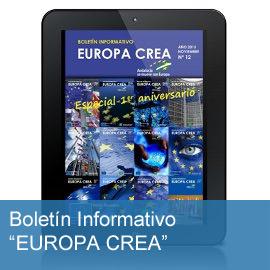 """Boletín Informativo """"EUROPA CREA"""""""