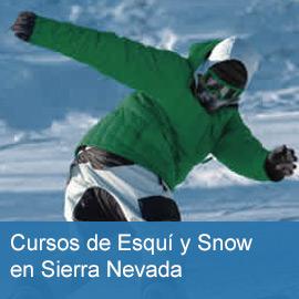 Cursos de Esquí y Snow en Sierra Nevada