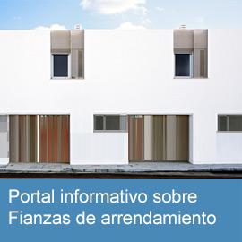 Portal informativo sobre fianzas de arrendamiento