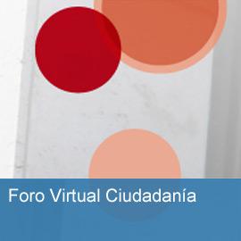 Foro Virtual Ciudadanía