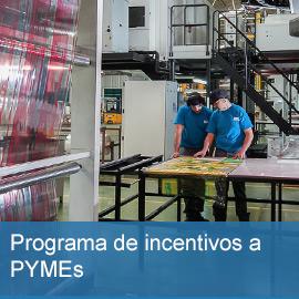 Incentivos a PYMEs para el desarrollo industrial y la creación de empleo