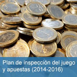 Plan de inspección del juego y apuestas 2014-2016