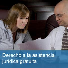 Derecho a la asistencia jurídica gratuita