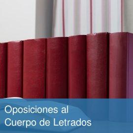 Oposiciones al cuerpo de letrados