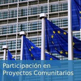 Participación en proyectos comunitarios