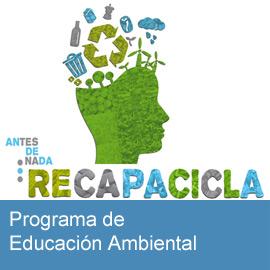 Programa de Educación Ambiental: Recapacicla