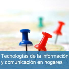Tecnologías de la Información y comunicación en hogares