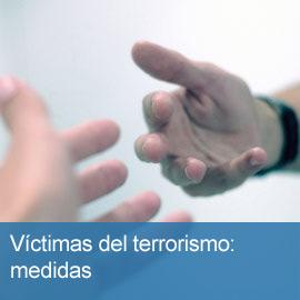 Medidas para víctimas de terrorismo