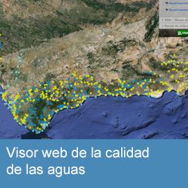 Visor web de la calidad de las aguas