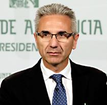 Miguel Angel Vázquez, portavoz del Gobierno de la Junta de Andalucía