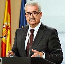 Manuel Jiménez Barrios, vicepresidente de la Junta y consejero de la Presidencia