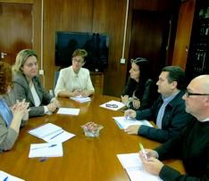 Reunión CEICE, responsables Guadalinfo e IAM en Almería.