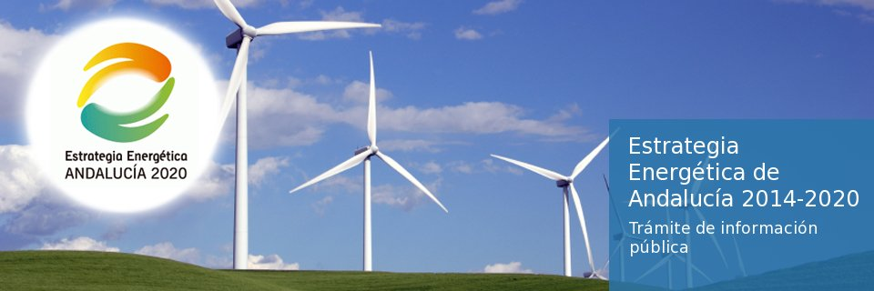 Estratégia energética andaluza 2020
