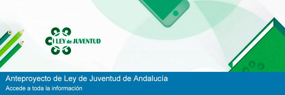 Anteproyecto de Ley de Juventud de Andalucía