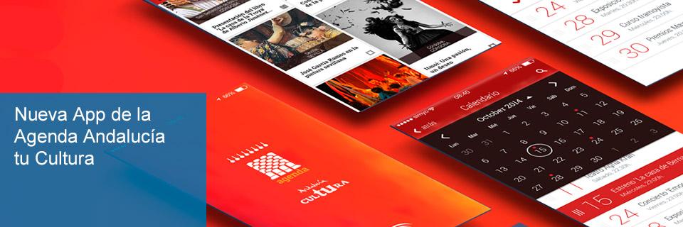 Nueva App de la Agenda Andalucía tu Cultura