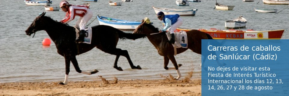 Carrera de caballos Sanlúcar