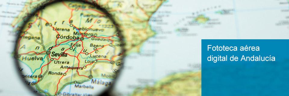 Fototeca aérea digital de Andalucía