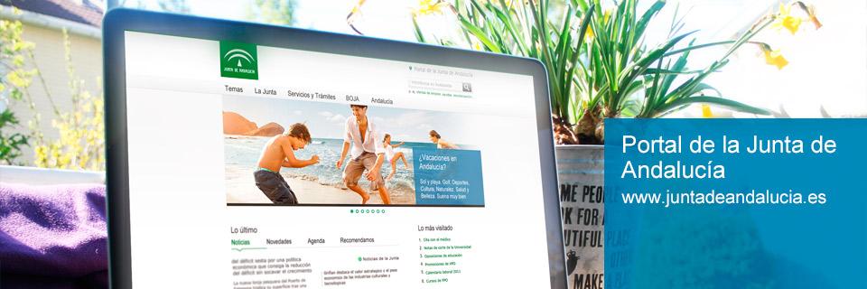 Accede al Portal de la Junta de Andalucía