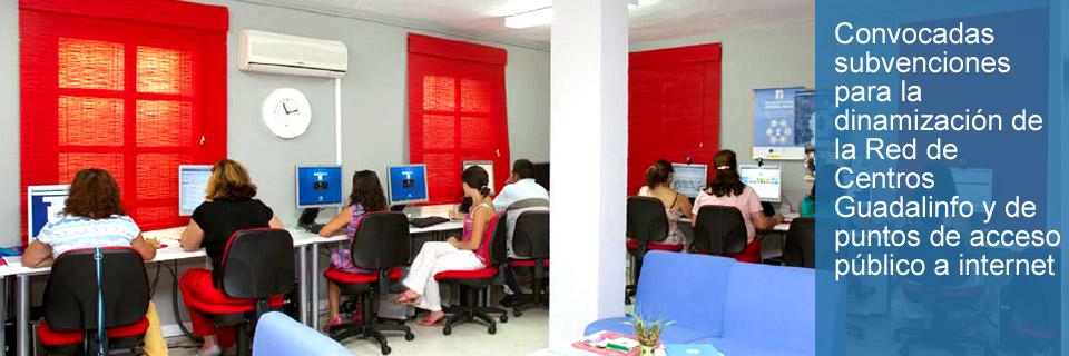 Subvenciones red Guadalinfo