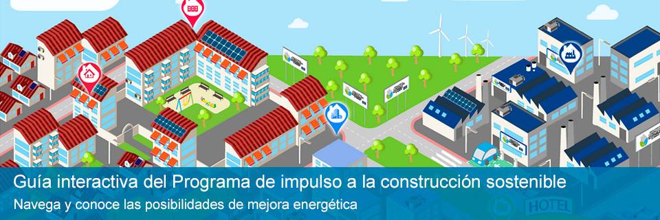 Guía interactiva del Programa de impulso a la construcción sostenible