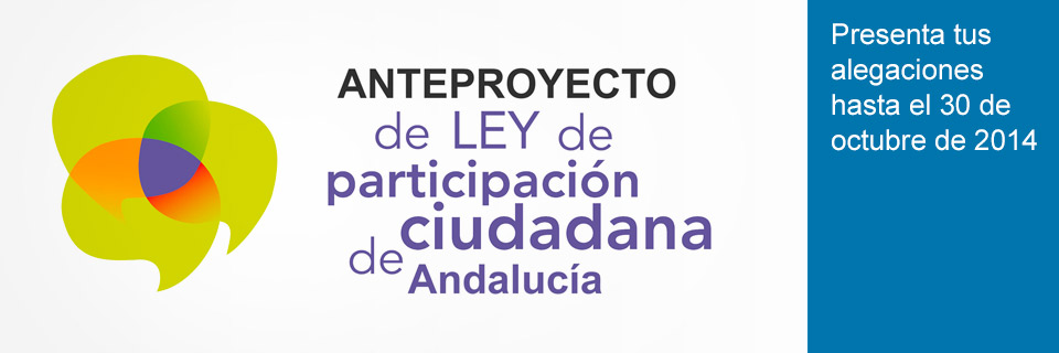 Anteproyecto de Ley de Participación Ciudadana