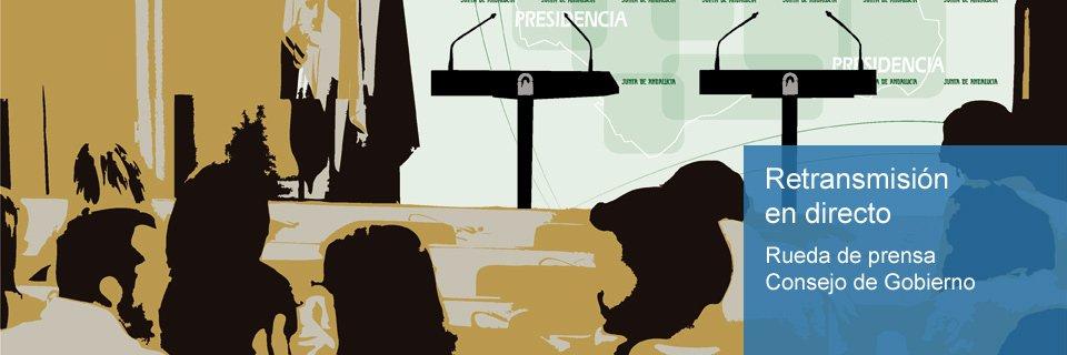 Consejo de Gobierno - Rueda de prensa