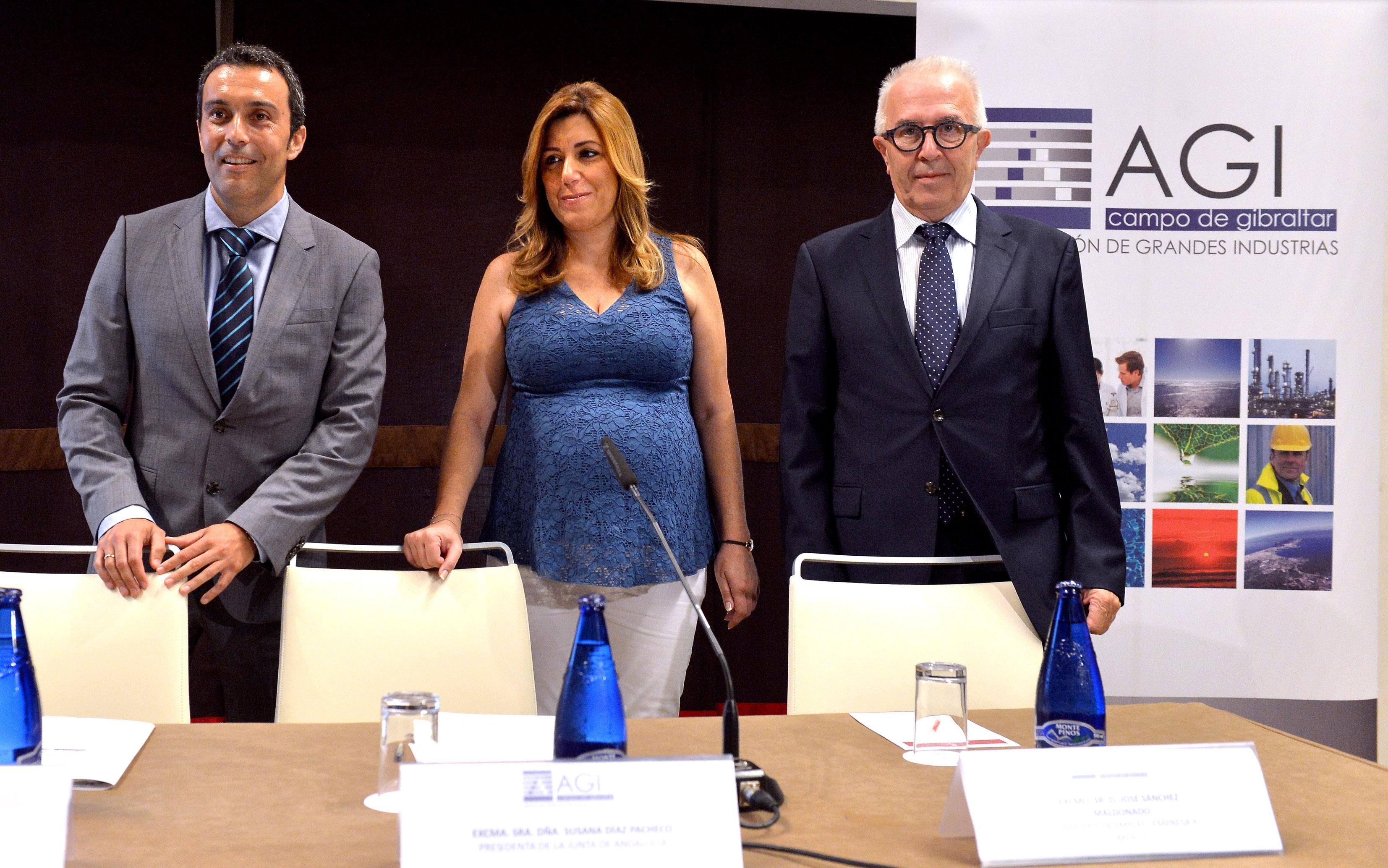 Díaz asistió a la presentación de la Memoria Anual 2014 de la AGI