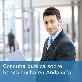 Consulta Pública sobre Banda Ancha Andalucía