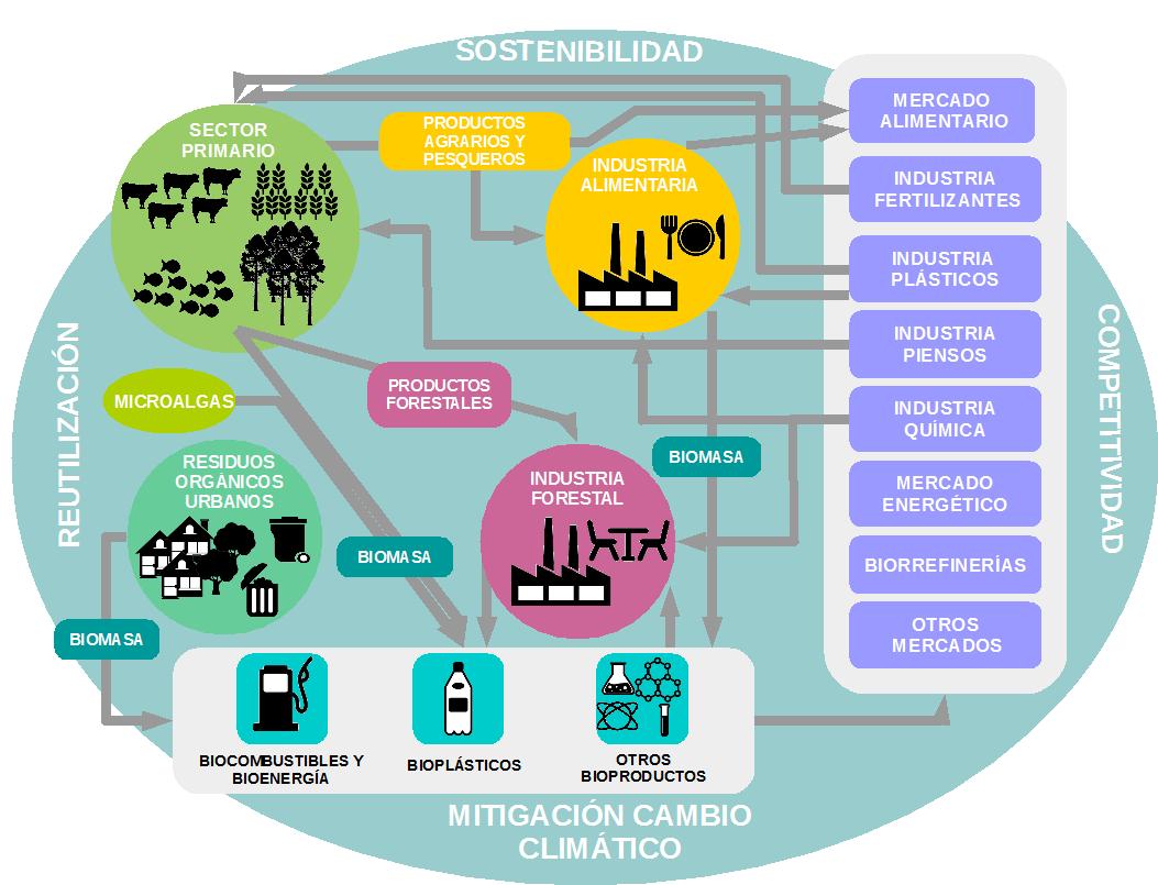 Diagrama bioeconomía