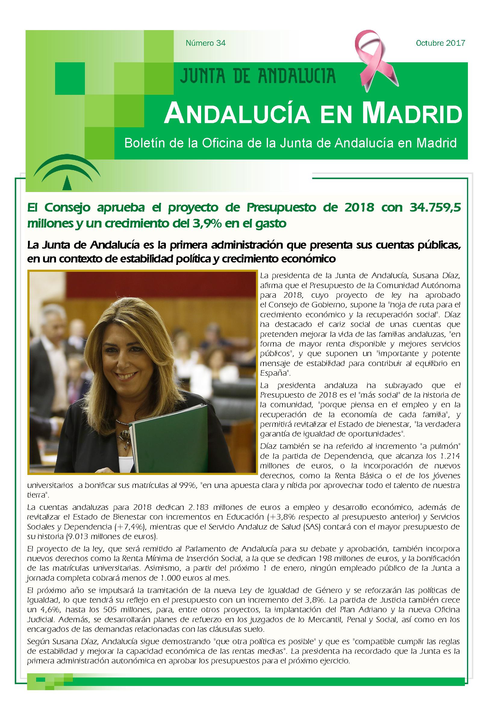 Junta de andaluc a oficina jda en madrid for Oficina de empleo andalucia