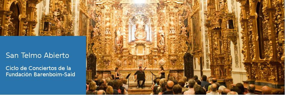 San Telmo Abierto - Ciclo de Conciertos  de la Fundación Barenboim-Said