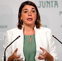 Elena Cortés, consejera de Fomento y Vivienda