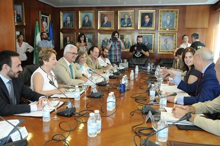 Reunión del Consejo Rector del Consorcio de Las Aletas