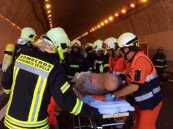 Heridos en un túnel