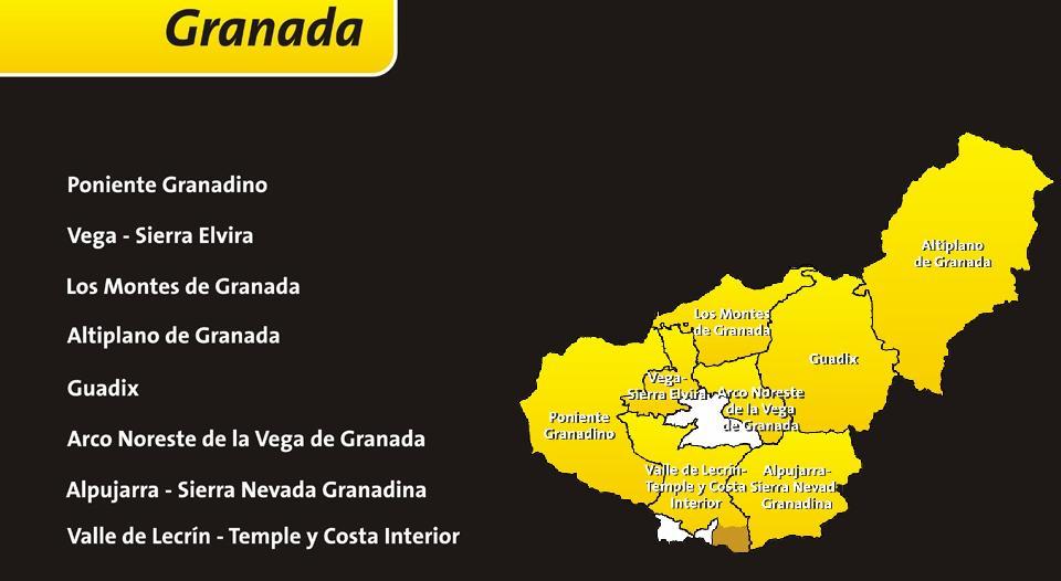 Junta de andaluc a grupos de desarrollo rural de granada - Paginas amarillas de granada ...