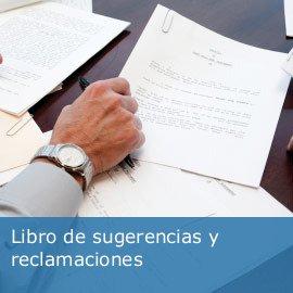Libro de sugerencias y reclamaciones