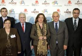 La consejera clausuró el acto organizado por CEPES-A