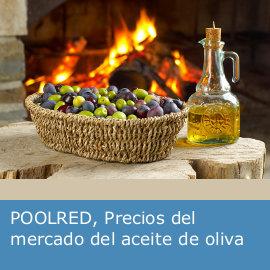 Precios del mercado del aceite de oliva: POOLRED