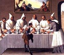 'El milagro de San Hugo en el  refectorio', de Zurbarán