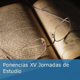 Ponencias XV Jornadas de Estudio