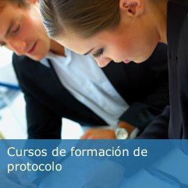 Cursos de formación de protocolo