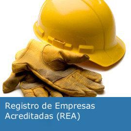 Registro de Empresas Acreditadas (REA)