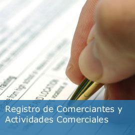 Acceso al Registro de Comerciantes y Actividades Comerciales
