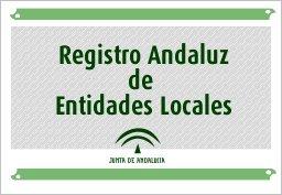 Logo del Registro andaluz de entidades locales de la Junta de Andalucía