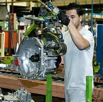 El valor añadido de la industria andaluza creció un 4,7% en el último año