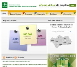 Junta de andaluc a la oficina virtual del servicio for Oficina virtual de enpleo