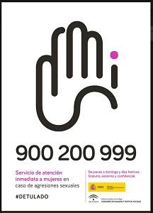 Servicio de atención inmediata a mujeres en caso de agresiones sexuales.